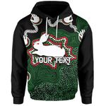 (Custom Personalised)Rabbitohs Hoodie Aboriginal 2