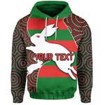 (Custom Personalised) Rabbitohs Hoodie
