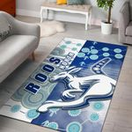 Melbourne Kangaroos Area Rug Indigenous North - Roos | 1st New Zealand