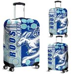Melbourne Kangaroos Luggage Covers Indigenous North - Roos | 1st New Zealand