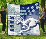 Melbourne Kangaroos Premium Quilt Indigenous North - Roos | 1st New Zealand