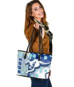 Melbourne Kangaroos Small Leather Tote Indigenous North - Roos | 1st New Zealand