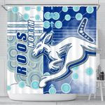 Melbourne Kangaroos Shower Curtain Indigenous North - Roos | 1st New Zealand