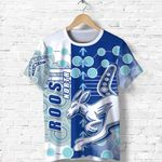 Melbourne Kangaroos T Shirt Indigenous North - Roos | 1st New Zealand
