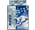 Melbourne Kangaroos Quilt Bed Set Indigenous North - Roos | 1st New Zealand