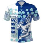 Melbourne Kangaroos Polo Shirt Indigenous North - Roos | 1st New Zealand