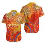 Suns Hawaiian Shirt Sun Indigenous Gold Coast | 1st New Zealand