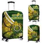 Cook Islands Luggage Covers Style Turtle Rugby | 1st New Zealand