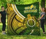 Cook Islands Premium Quilt Style Turtle Rugby | 1st New Zealand