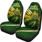 Cook Islands Car Seat Covers Style Turtle Rugby | 1st New Zealand