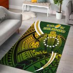 Cook Islands Area Rug Style Turtle Rugby | 1st New Zealand