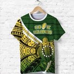 Cook Islands T Shirt Style Turtle Rugby | 1st New Zealand