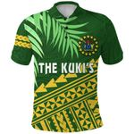 Cook Islands Rugby Polo Shirt Coconut Leaves - The Kuki's | 1st New Zealand