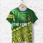 Cook Islands Rugby T Shirt Coconut Leaves - The Kuki's | 1st New Zealand