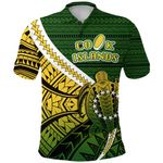 Cook Islands Polo Shirt Style Turtle Rugby | 1st New Zealand