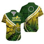 Cook Islands Hawaiian Shirt Style Turtle Rugby | 1st New Zealand
