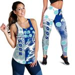 Combo Racerback Tank and Legging Melbourne Kangaroos | 1st New Zealand