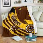 Pride Hawks Premium Blanket Hawthorn Indigenous | 1st New Zealand