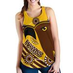 Pride Hawks Women Racerback Tank Hawthorn Indigenous | 1st New Zealand