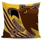 Pride Hawks Pillow Cover Hawthorn Indigenous | 1st New Zealand