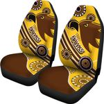 Pride Hawks Car Seat Covers Hawthorn Indigenous | 1st New Zealand