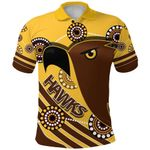 Pride Hawks Polo Shirt Hawthorn Indigenous | 1st New Zealand