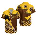 Pride Hawks Hawaiian Shirt Hawthorn Indigenous | 1st New Zealand