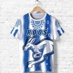 Melbourne Kangaroos T Shirt Indigenous North - Roos White | 1st New Zealand