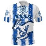 Melbourne Kangaroos Polo Shirt Indigenous North - Roos White | 1st New Zealand