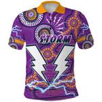 Storm Polo Shirt Melbourne Indigenous Thunder |1st New Zealand