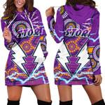 Storm Women Hoodie Dress Melbourne Indigenous Thunder |1st New Zealand
