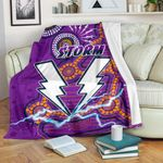 Storm Premium Blanket Melbourne Indigenous Thunder |1st New Zealand