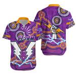 Storm Hawaiian Shirt Melbourne Indigenous Thunder  1st New Zealand