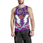 Storm Men's Tank Top Melbourne Indigenous Thunder |1st New Zealand