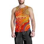 Suns Men Tank Top Sun Indigenous Gold Coast |1st New Zealand