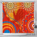 Shower Curtain Sun Indigenous |1st New Zealand