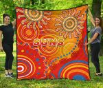 Suns Premium Quilt Sun Indigenous Gold Coast |1st New Zealand