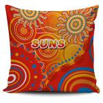 Suns Pillow Cover Sun Indigenous Gold Coast |1st New Zealand