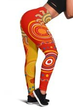 Suns Women Leggings Sun Indigenous Gold Coast |1st New Zealand
