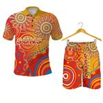 Combo Polo Shirt and Men Short Suns Indigenous Gold Coast |1st New Zealand
