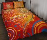 Suns Quilt Bed Set Sun Indigenous Gold Coast |1st New Zealand