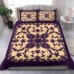 Turtle with Hibiscus Royal Purple Bedding Set