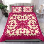 Turtle with Hibiscus Royal Pink Bedding Set