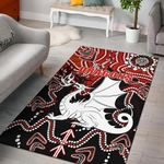 Dragons Area Rug St. George Indigenous Limited |1st New Zealand