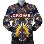 Adelaide Men's Bomber Jacket Original Indigenous Crows