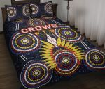 Adelaide Quilt Bed Set Original Indigenous Crows