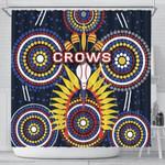 Adelaide Shower Curtain Original Indigenous Crows
