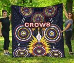 Adelaide Premium Quilt Original Indigenous Crows
