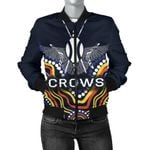 Adelaide Women Bomber Jacket Special Crows