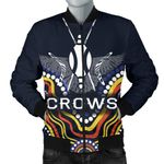 Adelaide Men Bomber Jacket  Special Crows